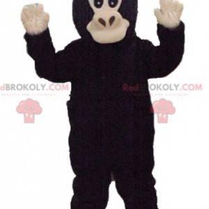 Brązowa i beżowa małpa maskotka - Redbrokoly.com