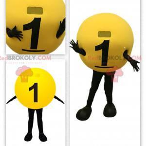 Lottery ball mascot - Redbrokoly.com