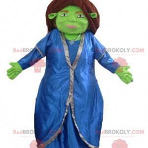 Fiona maskot berømte ledsager af Shrek - Redbrokoly.com