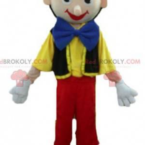 Mascot Pinocchio berømte tegneseriefigur - Redbrokoly.com