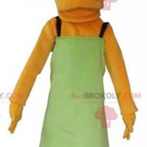 O famoso personagem de desenho animado da mascote de Marge