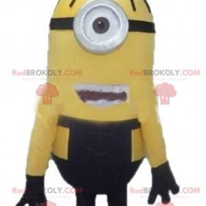 Minion maskot slavné žluté kreslené postavičky - Redbrokoly.com