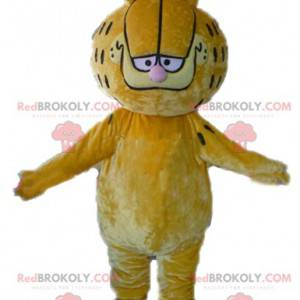 Garfield maskot berømte tegneserie orange kat - Redbrokoly.com