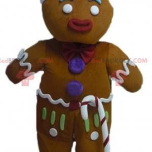 Mascot Ti famoso biscotto di pan di zenzero a Shrek -