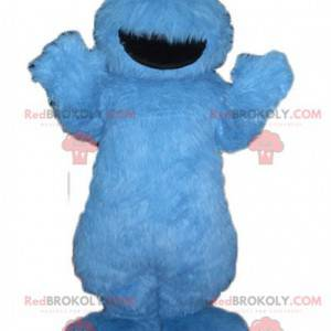 Sesame Street Grover blå monster maskot - Redbrokoly.com