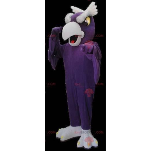 Lilla og grå gribfuglemaskott - Redbrokoly.com