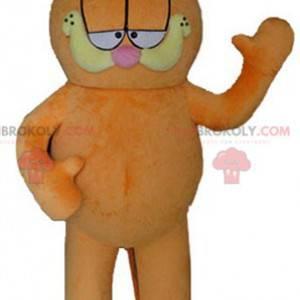 Garfield mascotte il famoso gatto arancione dei cartoni animati