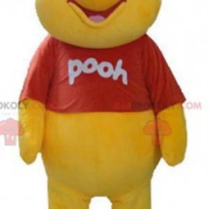 Maskot Medvídek Pú slavný kreslený žlutý medvěd - Redbrokoly.com