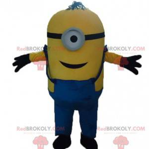 Minion maskot berømte gule tegneseriefigur - Redbrokoly.com