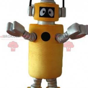 Yo Gabba Gabba Plex the yellow robot mascot - Redbrokoly.com
