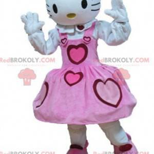 Hello Kitty mascotte famoso gatto dei cartoni animati -