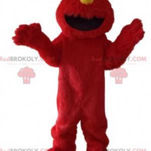 Maskot Elmo, slavná červená loutka ze Sesame Street -