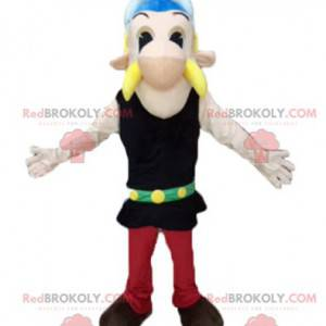 Famosa mascote do Asterix de desenho animado gaulês -