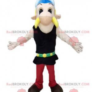 La famosa mascota de Asterix de dibujos animados galos -