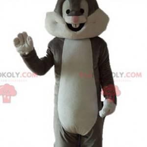 Bugs Bunny mascotte famoso coniglio grigio Looney Tunes -