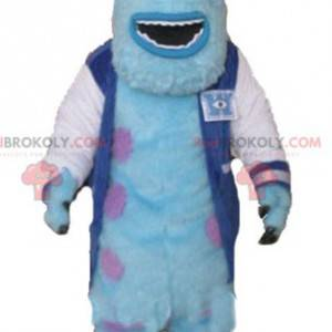 Mascota de Sully famoso monstruo peludo de Monstruos y compañía