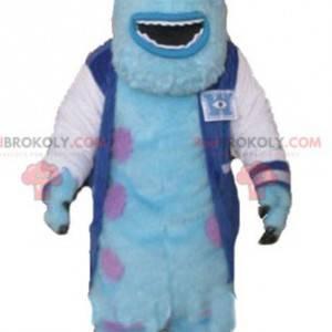Sully mascote famoso monstro peludo de Monstros e companhia -