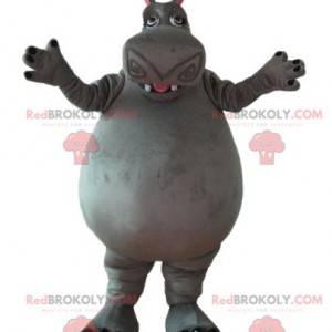 Mascote Gloria, o hipopótamo do desenho animado de Madagascar -