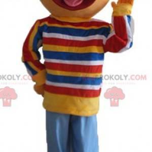 Mascotte Ernest famoso burattino di Sesame Street -