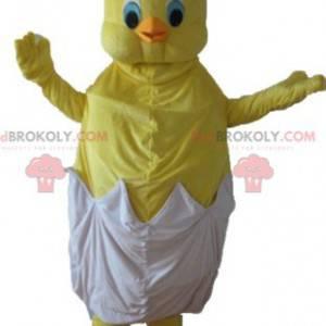 Mascote de Titi, o famoso canário amarelo dos Looney Tunes -
