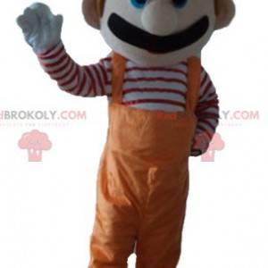 Mario mascot famous video game character - Redbrokoly.com