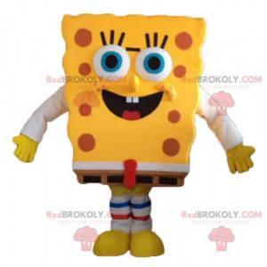 Bob Esponja - mascote - personagem de desenho animado amarelo -