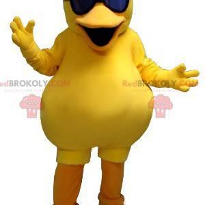 Velký žlutý kuřecí kachna maskot - Redbrokoly.com