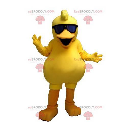 Stor gul dama maskot - Redbrokoly.com