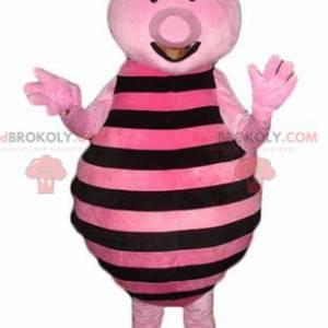 Leitão mascote, o famoso porco rosa do Ursinho Pooh -