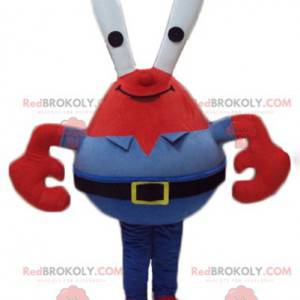 Mascot Mr. Crabs berømte røde krabbe i SpongeBob SquarePants -