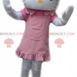 Hello Kitty mascotte famoso cartone animato gatto bianco -