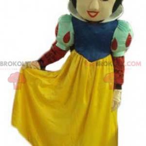 Famosa mascotte della Principessa Disney Biancaneve -