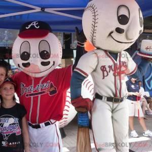 Baseball mascots - Redbrokoly.com