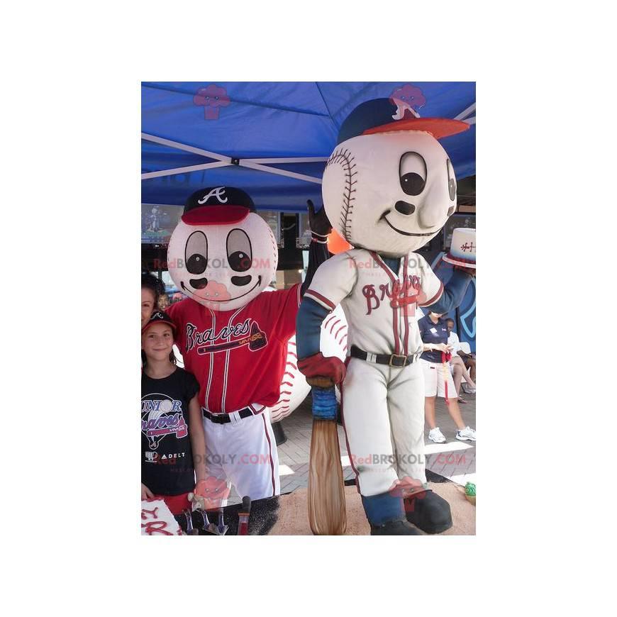 Maskoti baseballu - Redbrokoly.com