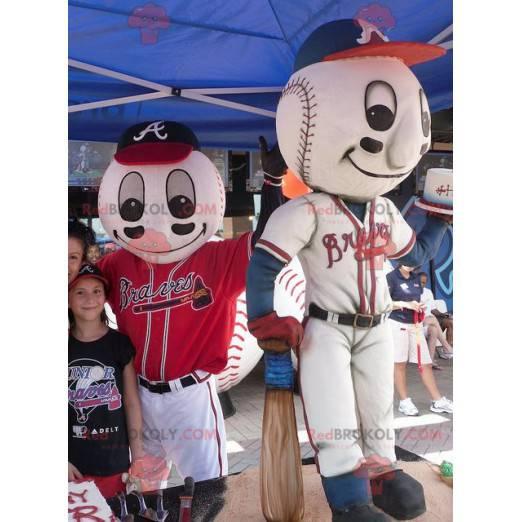 Baseball Maskottchen - Redbrokoly.com