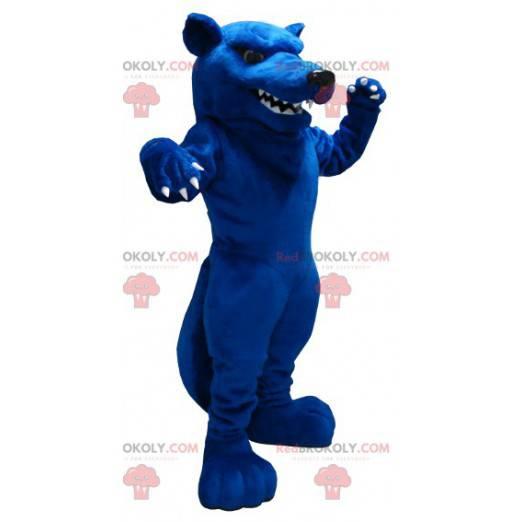 Obří modrá krysa maskot vypadá ošklivě - Redbrokoly.com