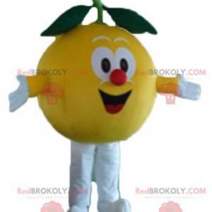 Maskotka żółta cytryna dookoła i urocza - Redbrokoly.com