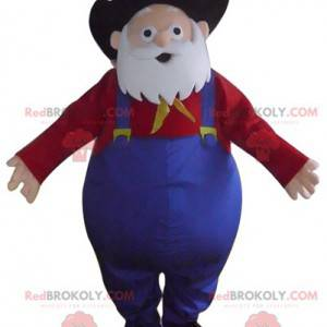 Mascotte Papi Nugget, beroemd personage uit Toy Story 2 -