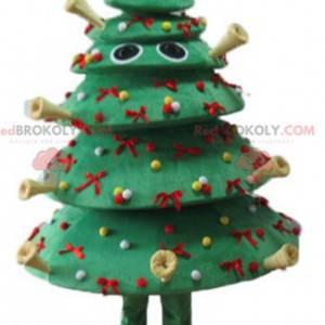 Very original and crazy decorated Christmas tree mascot -