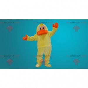 Yellow and orange duck mascot - Redbrokoly.com