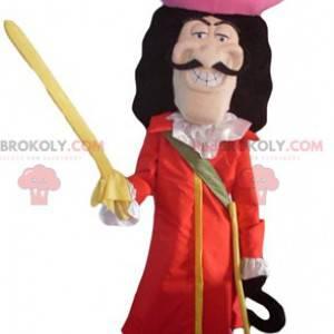 Maskottchen Captain Hook Bösewicht Charakter in Peter Pan -