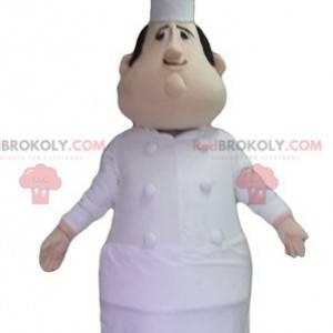 Baculatý a velmi realistický maskot kuchaře - Redbrokoly.com
