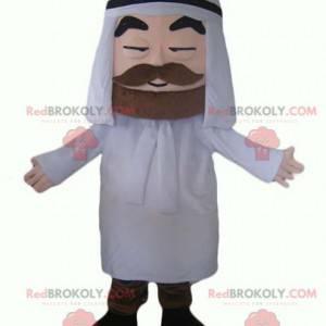 Pouštní muž Tuareg sultán maskot - Redbrokoly.com