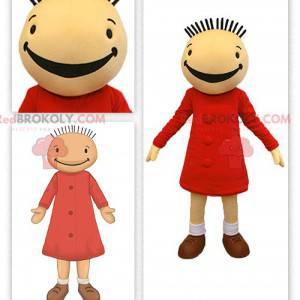 Maskot Fanfreluche panenka Suzy v Bobovi a Bobette -