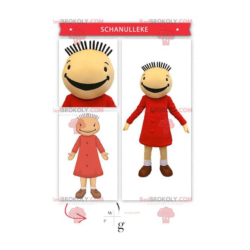 Mascot Fanfreluche doll of Suzy in Bob and Bobette -