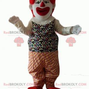 Sehr realistisches und beeindruckendes Clown-Maskottchen -