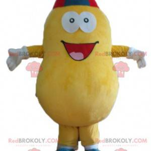 Giant and smiling yellow potato mascot - Redbrokoly.com