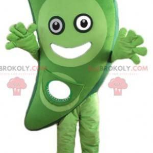 Velmi usměvavý zelený zeleninový ovocný maskot - Redbrokoly.com