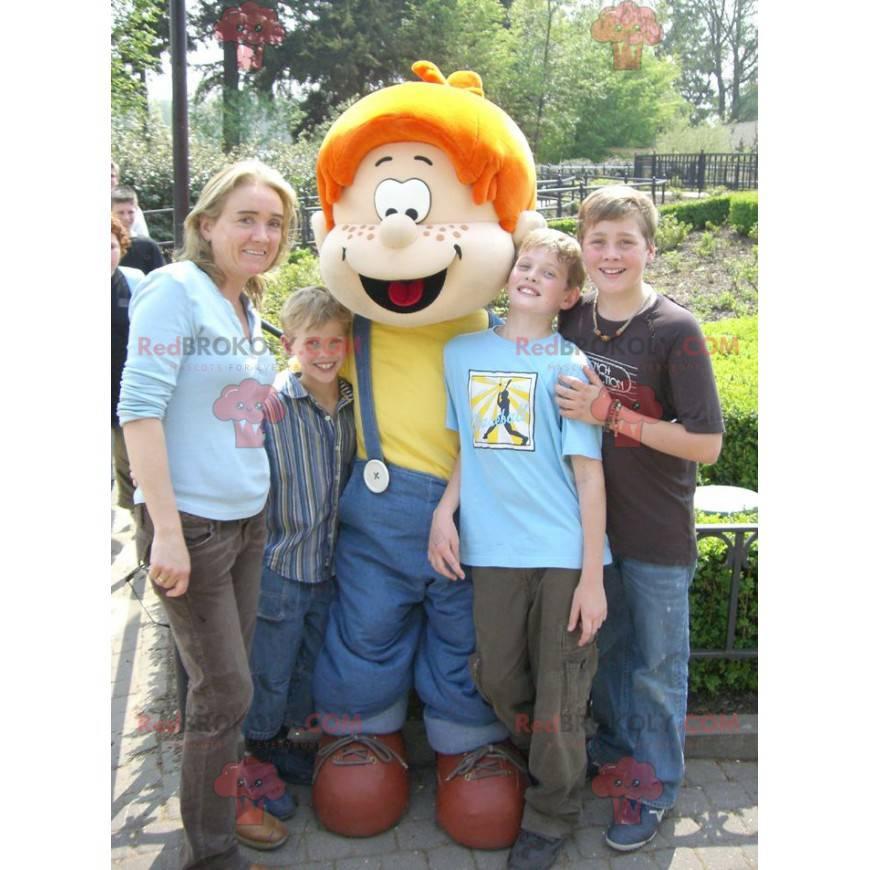 Maskot Boule slavná postava z komiksu Boule et Bill -