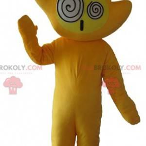 Riesiges und lustiges gelbes Handmaskottchen - Redbrokoly.com